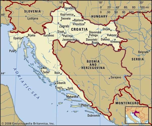 Croația – burse 2020-2021